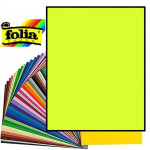 Картон Folia, Photo Mounting Board 300 гр, 50x70 см №49 Lime (Лайм)