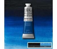 Краска масляная Winsor Winton Oil Colour, 37 мл, № 538 Прусский синий арт 1414538