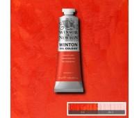 Краска масляная Winsor Winton Oil Colour, 37 мл, № 603 Озеро Скарлет арт 1414603
