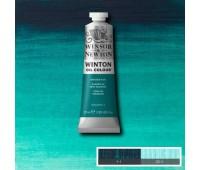 Краска масляная Winsor Winton Oil Colour, 37 мл, № 696 Виридиан темный арт 1414696