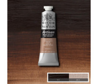 Краска масляная Winsor водорастворимая Artisan 37 мл, № 076 Burnt umber Палена умбра арт 1514076