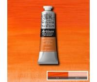 Краска масляная Winsor водорастворимая Artisan 37 мл, № 090 Cadmium orange hue Оранжевый кадмий арт 1514090