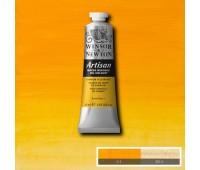Краска масляная Winsor водорастворимая Artisan 37 мл, № 109 Cadmium yellow hue Желтый кадмий арт 1514109