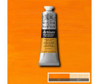 Краска масляная Winsor водорастворимая Artisan 37 мл, № 115 Cadmium yellow deep hue Темно-желтый кадмий арт 1514115