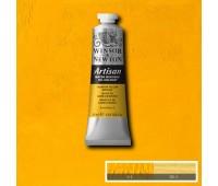 Краска масляная Winsor водорастворимая Artisan 37 мл, № 116 Cadmium yellow medium Нежно-желтый кадмий арт 1514116