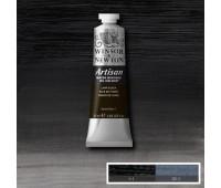 Краска масляная Winsor водорастворимая Artisan 37 мл, № 337 Lamp black черный арт 1514337