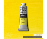 Краска масляная Winsor водорастворимая Artisan 37 мл, № 346 Lemon yellow Лимонно-желтый арт 1514346