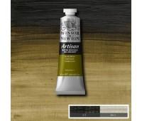 Краска масляная Winsor водорастворимая Artisan 37 мл, № 447 Olive green Оливково-зеленый арт 1514447