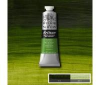 Краска масляная Winsor водорастворимая Artisan 37 мл, № 503 Permanent sap green Насыщенный зеленый арт 1514503