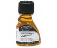 Winsor масло льняное темная для масличных красок, быстросохнущая Drying Linseed Oil, 75 мл_ арт 3321742