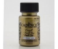 Cadence краска акриловая Dora Metallic Paint, 50 мл, Золотой перидот арт CA019423_171