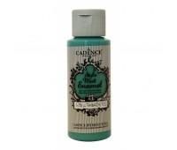 Витражные краски Cadence матовые Style Matt Enamel, 59 мл, № 356, Ультрамарин зеленый