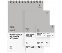 Winsor блок бумаги акварельной холодного прессования Watercolour aquarelle Classic range, 25,4х35,6 арт 6663253