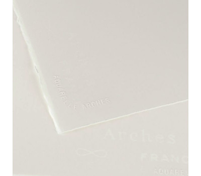 Бумага акварельная Arches Hot Pressed 185 гр, 56x76 см артикул 1795015