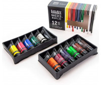 Набор Акриловых красок Liquitex Acrylic Studio, 12х22 мл, 101012 Liquitex США арт 3699353