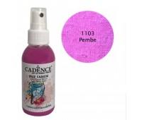 Краска-спрей по ткани Розовый Cadence 100 мл арт CA0507_1103