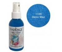 Краска-спрей по ткани Голубой Cadence 100 мл арт CA0507_1109