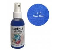 Краска-спрей по ткани Синий Cadence 100 мл арт CA0507_1110