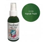 Краска-спрей по ткани Зеленые листья Cadence 100 мл арт CA0507_1113