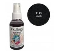 Краска-спрей по ткани Черная Cadence 100 мл арт CA0507_1119