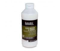 Медиум Liquitex Gloss medium & varnish, 118 мл арт 692378