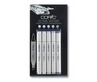 Copic набор маркеров Marker Set Indastrial Desing 6 шт арт 20075566