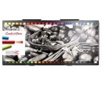 Пастельные мелки Conte мягкие Soft Pastel 50 шт в наборе, 750210 Conte