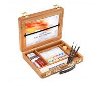 Подарочный набор акварельных красок Winsor в деревянном боксе, 0190693 Winsor Newton арт 190693