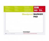 Блокнот формата A4 Copic для маркеров Alcohol Marker Pad 70 gm2, 50 листов арт 25001