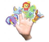 Пальчиковый театр Folia Foamcraft Finger Puppets Set Ассорти, 15 шт арт 23019