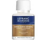 Лак для гуаши Lefranc Superfine varnish for gouache, 75 мл арт 301247