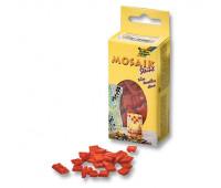 Мозаика Folia Mosaic-glass tiles 200 гр, 10x10 мм 300 шт , № 20 Red Красный арт 5520