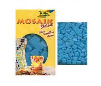 Мозаика, Folia Mosaic-glass tiles 200 гр, 10x10 мм (300 шт) №30 Sky blue (Небесно голубой)
