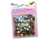 Мозаика Folia глянцевая Gloss assortments 45 гр, 5x5 мм Ассорти, 700 шт, 20 цв арт 59109