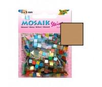 Мозаика Folia Gloss 45 гр, 5x5 мм 700 шт , № 75 Deep broun Темно коричневая арт 59175