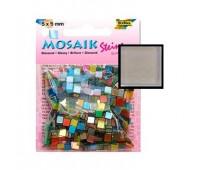 Мозаика Folia Gloss 45 гр, 5x5 мм 700 шт , № 80 Light grey Светло-серый арт 59180