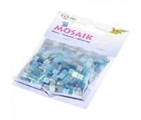 Мозаика Folia глитерна Glitter assortments 45 гр, 5x5 мм 700 шт , № 02 Blue Синий арт 61102