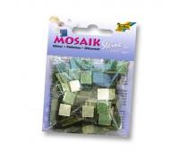 Мозаика Folia глитерна Glitter assortments 45 гр, 5x5 мм 700 шт , № 03 Green Зеленый арт 61103