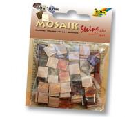 Мозаика Folia мраморная Marbled assortments 45 гр, 10x10 мм 190 шт , № 01 Red Красный арт 62201