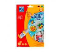 Набор витражных красок детский Window color 35 мл Color&Co арт 807363