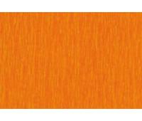 Бумага-Крепон Folia Crepe paper 50x250 cм, 32 г № 108 Orange Оранжевый арт 822108