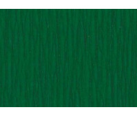 Бумага-Крепон Folia Crepe paper 50x250 cм, 32 г № 141 Moss green Тускло-зеленый арт 822141