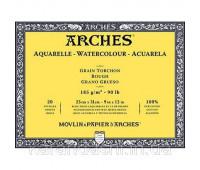 Блок для акварели крупнозернистый Arches Rough Grain 185 гр, 23x31 см 20 листов арт 1795078