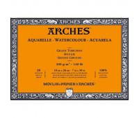 Блок для акварели крупнозернистый Arches Rough Grain 185 гр, 23x31 см 20 листов арт 1795081