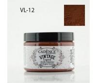 Cadence акриловая краска для создания эффекта состаривания V?ntage Legend, 150 мл, Brown Коричневый арт VL-12