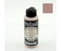 Cadence акриловая краска гибрид Hybrid Acrylic for Multisurfaces № 21, 120 мл, Warm Oat Теплый овес арт HM0101_21