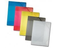 Папка пластиковая Folia Plastic Portfolio A3, Transparent Anthracite прозрачно-антрацитовая арт 6991