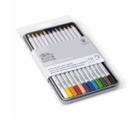 Набор цветных карандашей Winsor Coloured pensil tin, 12 шт 490012