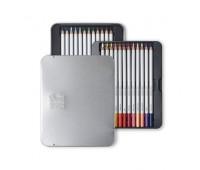 Набор цветных карандашей Winsor Coloured pensil tin, 24 шт 490013