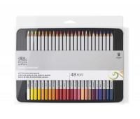 Набор цветных карандашей Winsor Coloured pensil tin, 48 шт 490014